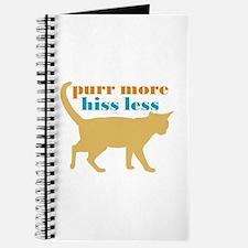 Purr More Hiss Less Journal