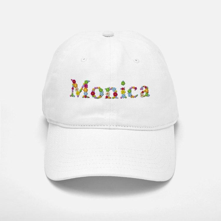 Monica Bright Flowers Baseball Baseball Baseball Cap