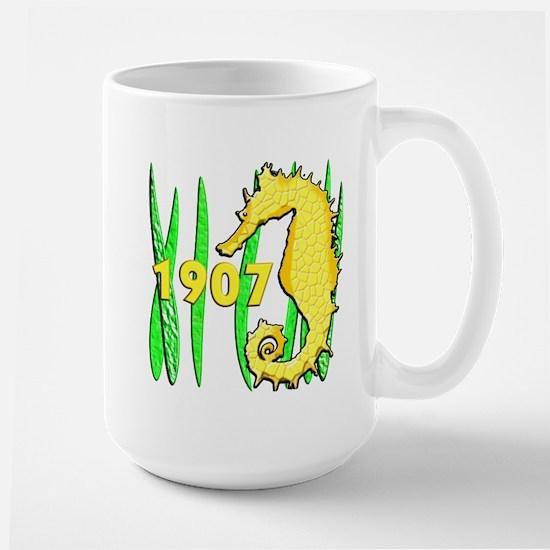 Seahorse, 1907 Large Mug