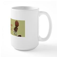 I Brake For Birds Sticker Mug