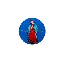 Our Lady of Guadalupe Mini Button