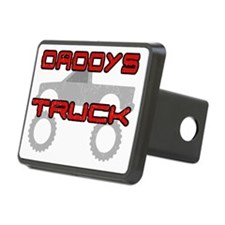 Daddys Pickup Truck Dark Rectangular Hitch Cover