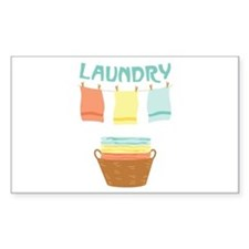 Laundry Decal