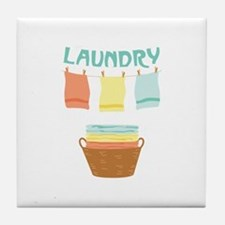 Laundry Tile Coaster