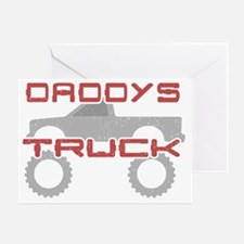 Daddys Pickup Truck Greeting Card