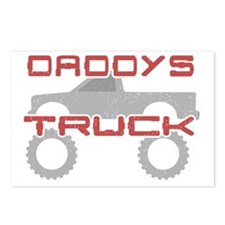 Daddys Pickup Truck Postcards (Package of 8)