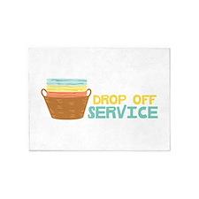 Drop Off Service 5'x7'Area Rug