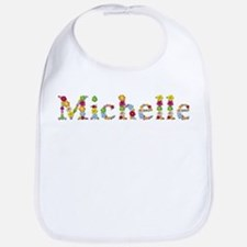 Michelle Bright Flowers Bib