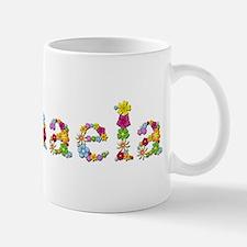 Michaela Bright Flowers Mugs