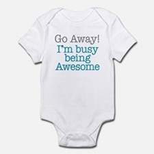 Busy Being Awesome Infant Bodysuit