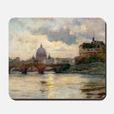 St Peter's Rome From The Tiber Mousepad