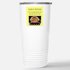 table tennis Travel Mug
