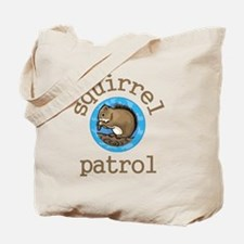 Squirrel Patrol Tote Bag