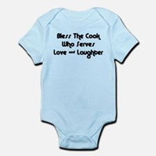 Bless The Cook Infant Bodysuit
