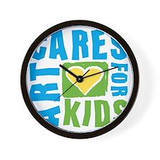 ArtCares Logo Wall Clock