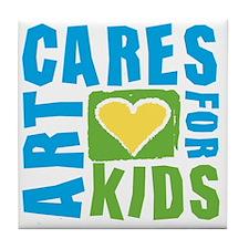 ArtCares Logo Tile Coaster