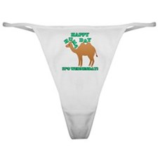 Happy Hump Day is Wednesday camel fu Classic Thong
