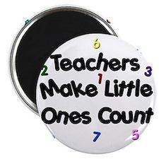 Teacher Count Magnet