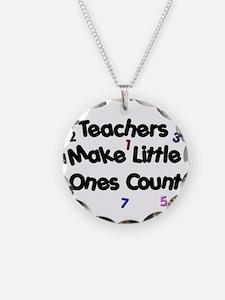 Teacher Count Necklace