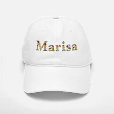 Marisa Bright Flowers Baseball Baseball Baseball Cap