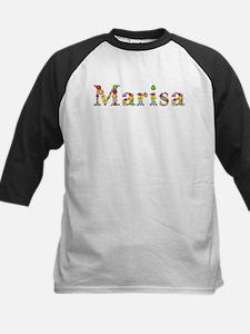 Marisa Bright Flowers Baseball Jersey