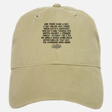 There Came a Day Baseball Baseball Cap