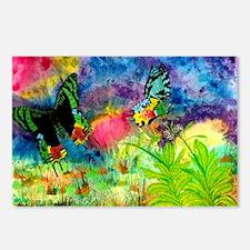 Madagascar Splash Blue Tr Postcards (Package of 8)