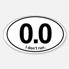 0.0 Bumper Stickers