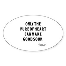 Good Soup Oval Sticker