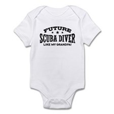 Future Scuba Diver Like My Grandpa Infant Bodysuit