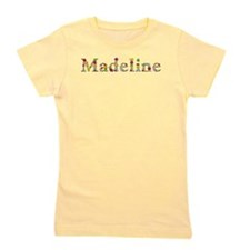 Madeline Bright Flowers Girl's Tee
