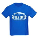Kids scuba Kids T-shirts (Dark)