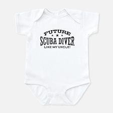 Future Scuba Diver Like My Uncle Infant Bodysuit
