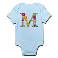 M Bright Flowers Body Suit