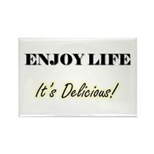 Enjoy Life Rectangle Magnet