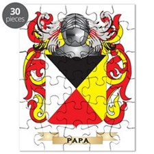 Papa Coat of Arms (Family Crest) Puzzle
