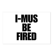 I-MUS Be Fired Postcards (Package of 8)
