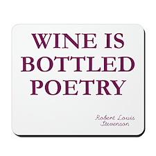 Wine Poetry Mousepad