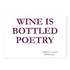 Wine Poetry Postcards (Package of 8)