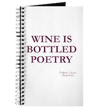 Wine Poetry Journal