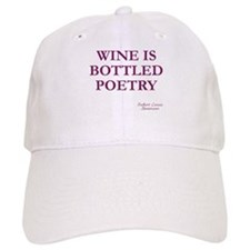 Wine Poetry Baseball Cap