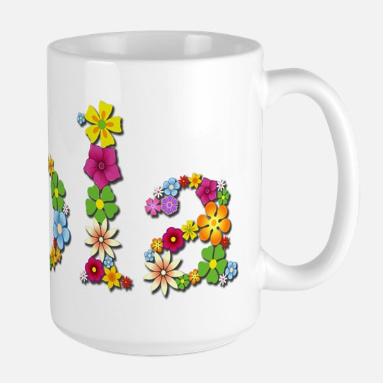 Lola Bright Flowers Mugs