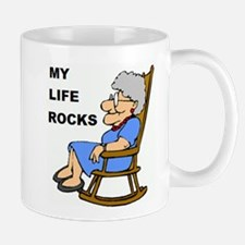 MY LIFE ROCKS Mugs