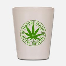 weed cannabis 420 t-shirt Shot Glass