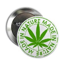 "weed cannabis 420 t-shirt 2.25"" Button"