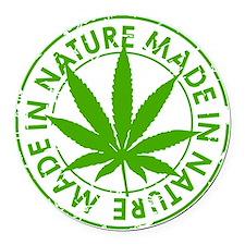 weed cannabis 420 t-shirt Round Car Magnet