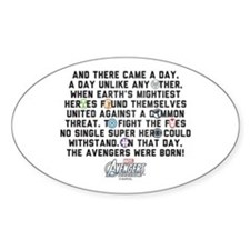 There Came a Day Decal