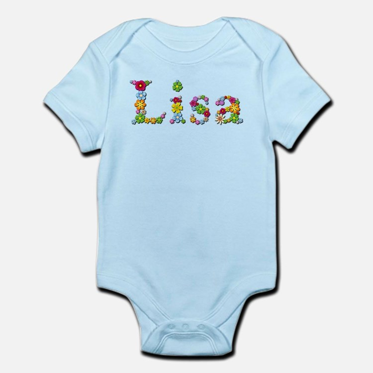 Lisa Bright Flowers Body Suit