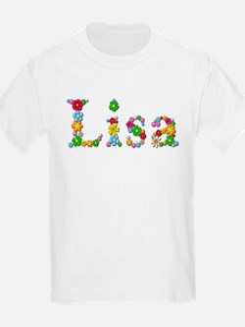 Lisa Bright Flowers T-Shirt