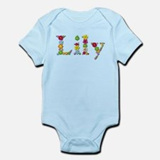 Lily Bright Flowers Body Suit